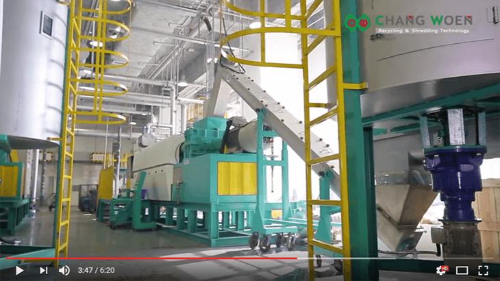 LDPE雙壓出塑膠回收機